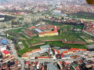 Fortificatie in Oradea. Autor foto: Vertigoro, via Wikimedia Commons.