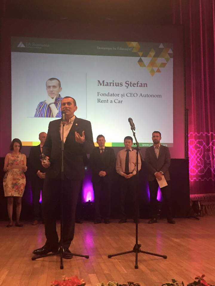 Marius Stefan, Business Hall of Fame 2015